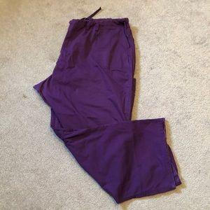 Cargo Stlye Pant Large Pocket Drawstring Waist
